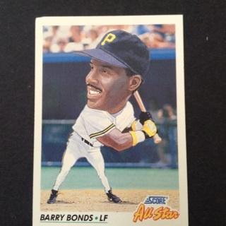 Free Free Shipping Big Head Barry Bonds All Star San
