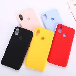 Color TPU Silicone Case For Xiaomi Redmi Note 6 5 7 Pro Redmi 6 Pro 6A 5Plus Frosted Matte Case Fo