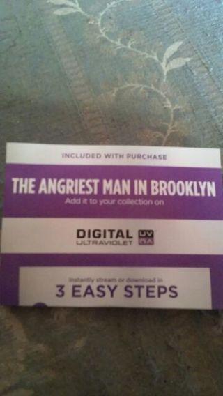 Digital copy of The Angriest Man In Brooklyn