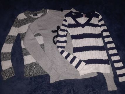 Girls Sweaters size 6