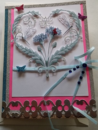 BN HAPPY ANNAVERSARY CARD HAND CRAFTED