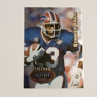 Kenneth Davis 1995 Playoff Prime #158 Bills