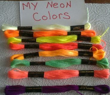 I Will Custom Color These HandMade 10 Neon Bracelets