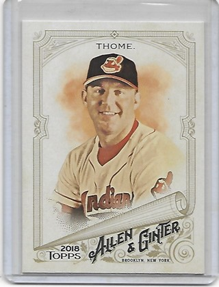 Jim Thome 2018 Allen & Ginter #114