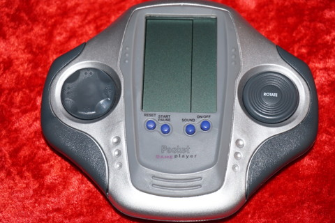 N.I.B. POCKET VIDEO GAME PLAYER 11 GAMES IN ONE