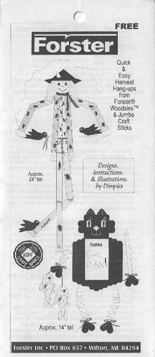 * Forster Woodcraft Pattern - Harvest Hangups
