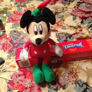 Disney NEW Christmas Mickey Mouse Dressed as Santa