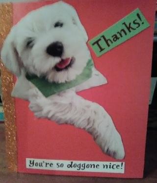 Thanks - Design Card