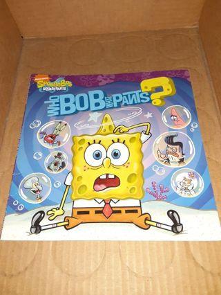 Spongebob book