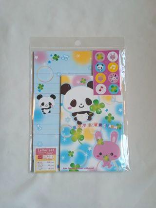♧Happy Clover Charm♧ Rare *19* PC. Letter Set & *8* Rare Memo Sheets ☆Kawaii Bonus☆