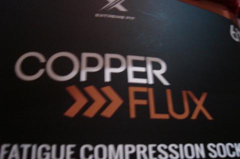 . copper>>>flux anti-fatigue compression