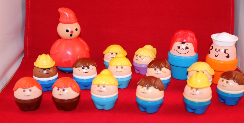 Little People Toys : Free vintage fisher price little people fat style lot