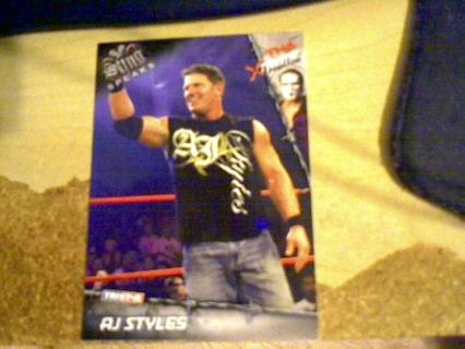 2010 TNA Xtreme AJ Styles card