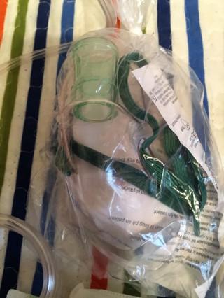 Medical, new Nebulizer mask, also inhaler holder and delivery