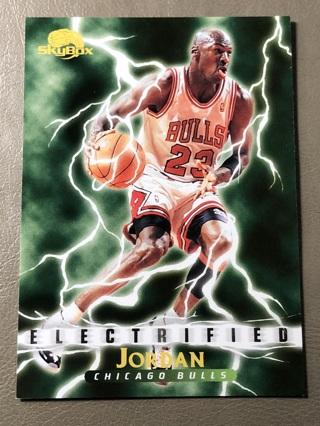 Michael Jordan Skybox Electrified Basketball Card #278 HOF
