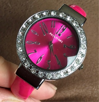 Pink Sparkly Watch