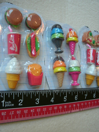 Miniature Toy Fast Food Lot of 26