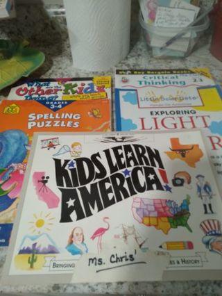 4 great teaching resource books.
