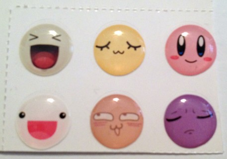 iPhone Home Buttons - Silly Faces (6)