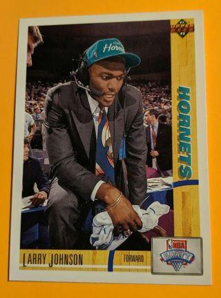 LARRY JOHNSON ROOKIE CARD
