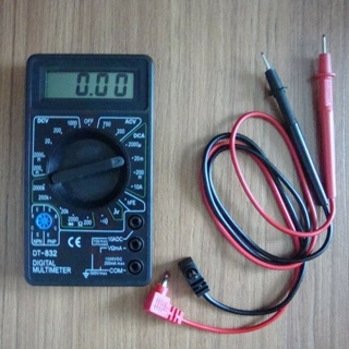 [GIN FOR FREE SHIPPING] Mini Digital Multimeter AC/DC Volt Amp Ohm Diode hFE Continuity Tester