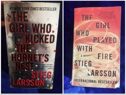 2 Books Set The Girl Who......