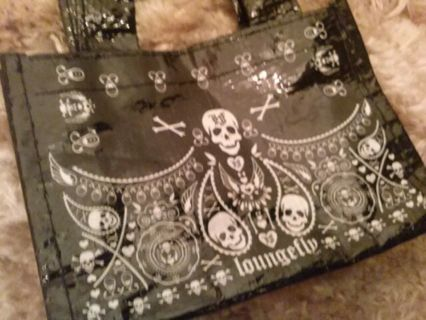 Awesome Skull and Crossbones Shoppers Tote by The Loungefly