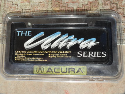 The Ultra - Cusom Engraved License Plates - Acura
