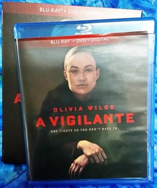 Olivia Wilde - A Vigilante 2019 Thriller Blu-Ray DVD Combo