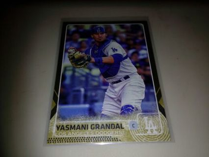 2015 TOPPS \ YASMANI GRANDAL \ DODGERS***GOLD #d to 2015