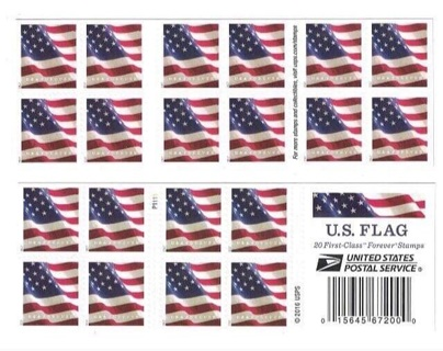 Book of Forever stamps 20 count