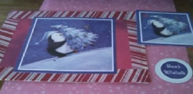 """"""" Perfect Christmas Tree """" New Design Blank Card with Envelope"""