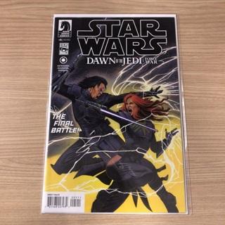 Star Wars DAWN OF JEDI Force War # 5