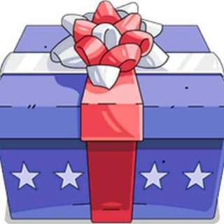 Red, White & Blue Mystery Box