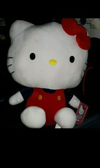 BRAND NEW WITH TAG 15 INCH HELLO KITTY TOY PLUSH