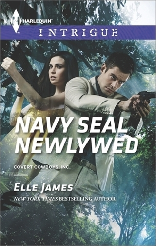 Harlequin Intrigue paperback romance novel - NAVY SEAL NEWLYWED by Elle James