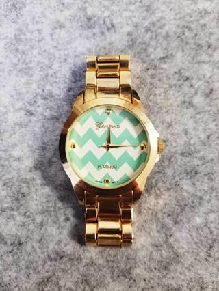 GENEVA Chevron Fashion Watch