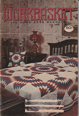 Workbasket Craft Book: Crochet, Knitting, Sewing, Patterns, How To: July 1976
