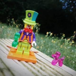 [GIN FOR FREE SHIPPING] New Party Clown Minifigure Building Toy Custom Lego
