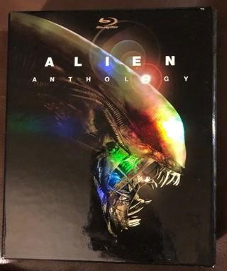 Alien Anthology (Blu-ray Disc, 2010, 6-Disc Set) Horror Sci-Fi