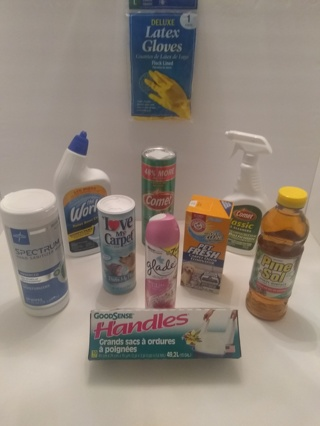 NEW, Household Cleaning Bundle