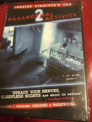 Paranormal Activity 2 DVD Factory sealed