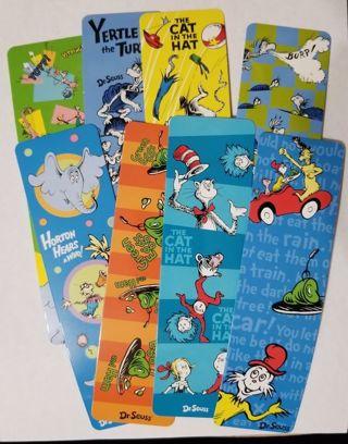 8 Dr Seuss Bookmarks