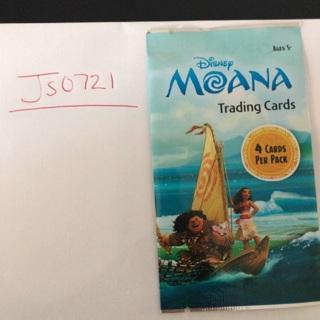 Moana trading cards