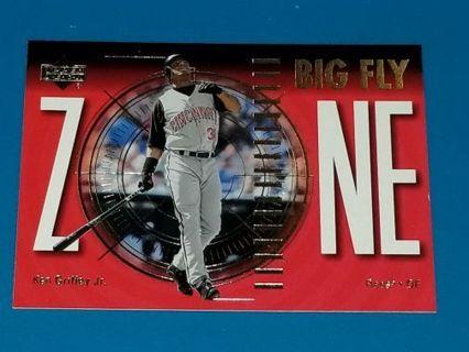 Ken Griffey Jr Insert 2001 UD Big Fly Zone