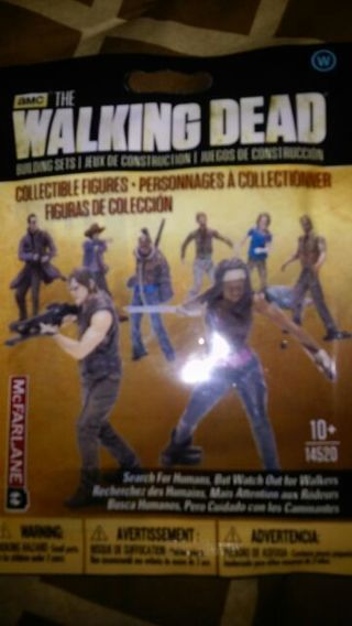 The Walking Dead Mcfarlane Toys building set W bn collectible action figure