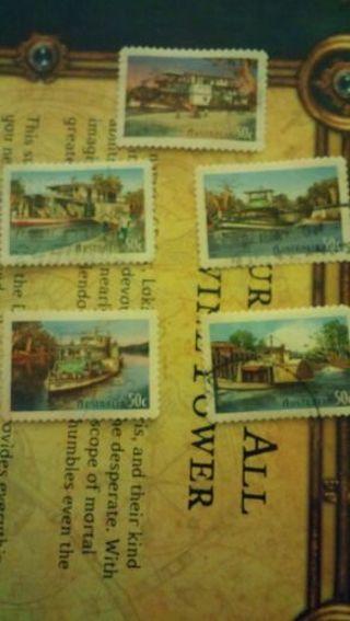 Australia set of 5 stamps