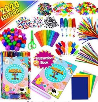 GoodyKing Assorted Arts and Crafts Supplies for Kids