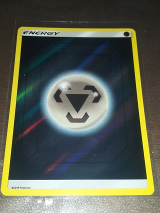 GREY ENERGY REVERSE HOLOGRAPHIC POKEMON MINT CONDITION CARD