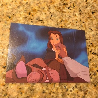 1992 Pro Set Beauty and the Beast - [Base] #71 Words of Love  The Walt Disney Company